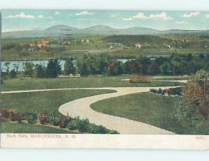 Pre-1907 PARK SCENE Manchester New Hampshire NH H4153