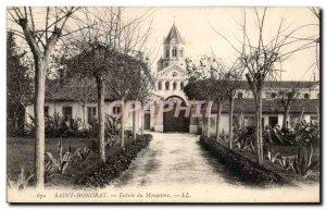 Ile St Honorat - Entree's Monastery - Old Postcard