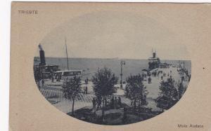 TRIESTE , Italy , 1900-10s ; Molo Audace