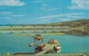 Nisutlin Bay Bridge, Teslin, Yukon,  Canada,  40-60s