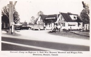 RP: DESERONTO, Ontario , Canada , 1951 ; Dawson's Camp