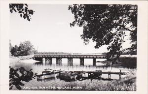 RP: Anchor Inn, Bridge, SPRING LAKE, Minnesota, 1930-1950s