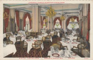 CHICAGO , Illinois , 1930-40s ; Hotel Copeland , Chramer's Musketeer dining Room