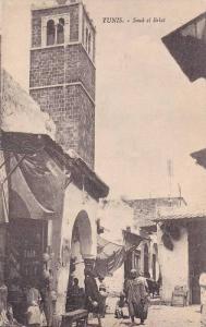 Souk El Belat, Tunis, Tunisia, Africa, 1900-1910s