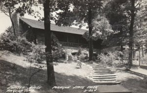 RP; ANGOLA , Indiana , 1930-40s ; Shelter House , Pokagon State Park