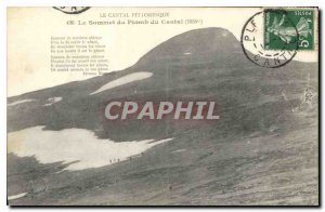 Postcard Old Picturesque Cantal The Summit Lead of the Cantal