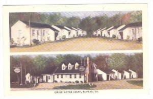 Circle Motor Court, Fairfax, Virginia, 40-60s
