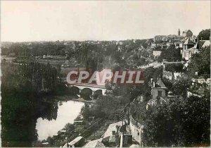 Modern Postcard Poitiers Vienne Valley of Clain The Railway Bridge