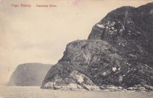 Saguenay River, Cape Trinity, Quebec, Canada, PU-1911
