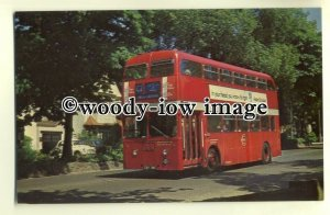 tm5469 - London Transport Bus XA36 to West Croydon - postcard