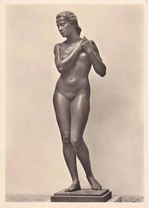 RP; German NAZI Era Art, Nude Woman, Rudolf Keasbach, Lebenstruhling, Haus ...