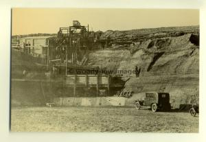 h0733 - Blackwater Quarry 1934  Newport , Isle of Wight - postcard