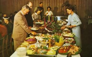 Neptune's Locker Restaurant Richmond BC Fraser River Unused Vintage Postcard E14