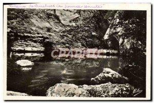 Old Postcard Fontaine de Vaucluse High Source