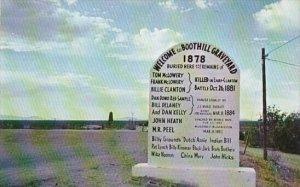 Arizona Tombstone Boot Hill Graveyard