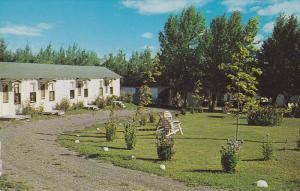 Exterior,  Maple Leaf Motel Cabins & Restaurant,  Saint Leonard,  N.B.,  Cana...