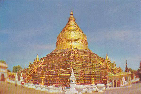 Myanmar Burma Shwezigon Pagoda
