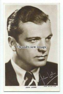 b5032 - Film Actor - John Loder, No.158 - postcard