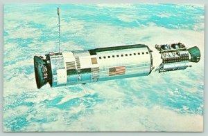 Kennedy Space Center Florida~NASA~Gemini 12 Spacecraft~Lovell & Aldrin~1970s