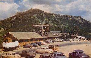 Rocky Mt National Park Colorado~Woody in Lots~Deer Ridge~Chalet~1940s Postcard