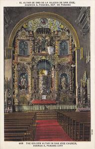 Golden Altar , San Jose Church , Panama City , Panama , 30-40s