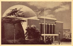 The Hayden Planetarium, New York, N.Y., Early Postcard, Unused