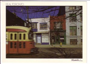 Queen Street East Steetcar, Toronto, Ontario, Real Toronto Series