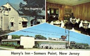 Harrys Inn  Somers Point NJ Unused