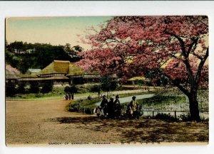 3028216 JAPAN YOKOHAMA Garden of Sankei-en Vintage PC