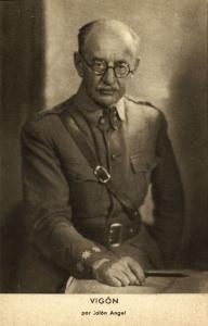Spanish Civil War, Spanish Nationalist General Juan Vigón Suero-Díaz (1939)