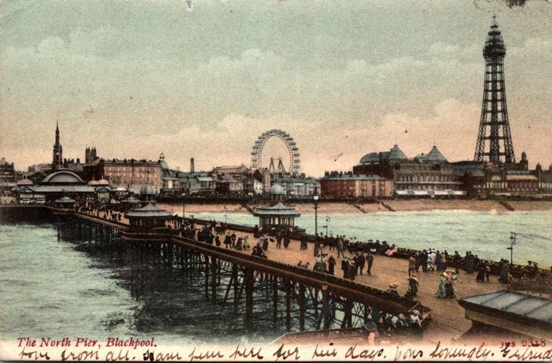 England Blackpool The North Pier 1905