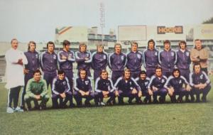 Anderlecht 1970s European Football Squad Postcard