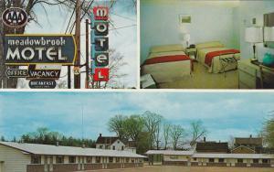 Meadowbrook Motel, Inside View, ST. STEPHEN, New Brunswick, Canada, 40-60´s