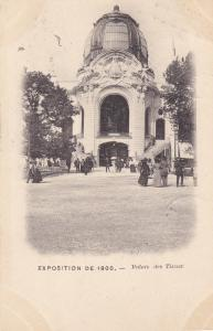 EXPOSITION DE 1900 ; Paris , France ; Palais des Tissus ; PU-1901