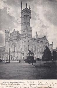 PHILADELPHIA, Pennsylvania, PU-1908; Masonic Temple