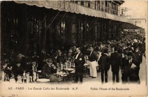 CPA Paris 9e - Les Grands Cafes des Boulevards (274288)