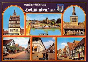 Holzminden multiviews Ackerbuerger Glockenspiel An der Weser Auto Cars Strasse