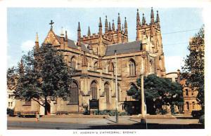 Sydney Australia St Andrew's Cathedral Sydney St Andrew's Cathedral