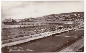 Somerset; General View, Weston Super Mare No 199 RP PPC Unposted