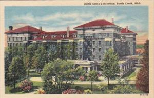 Michigan Battle Creek Sanitarium Curteich