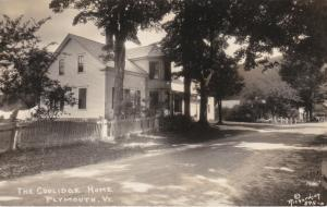 RP: PLYMOUTH , Vermont , PU-1931 ; President Coolidge Home #3