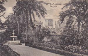 Spain Sevilla Alcazar Jardines