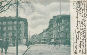 SPRINGFIELD , Massachusetts, PU-1908 ; Main Street, North of Court Square