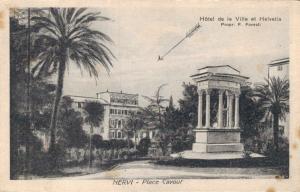 Italy Nervi Place Cavour Hotel de la Ville et Helvetia 02.16
