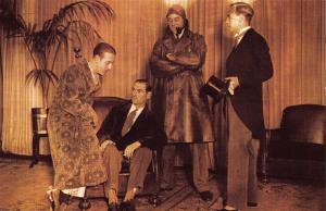 Postcard Nostalgia NOTTINGHAM CO-OP Mens Fashion Parade 1929 Reproduction Card
