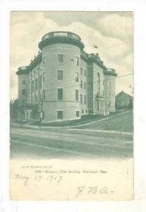 Women's Club Building, Worcester, Massachusetts, PU-1907