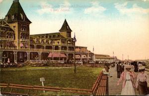 New York Coney Island Brighton Beach Hotel and Boardwalk