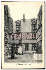 Old Postcard Bourges Hotel Cujas