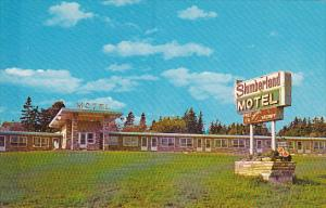 Canada New Brunswick Aulac Slumberland Motel LTD