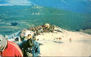 Mexico Amecameca Popocatepeti Volcano 1977